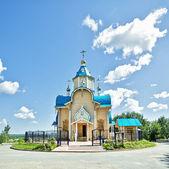 Igreja de madeira — Foto Stock