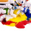 Close up of art supplies. — Stock Photo #7110841