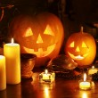 Halloween pumpkin lantern. - Stock Photo