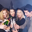 Group young at nightclub. — Stock Photo #7111167