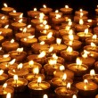 Group of candles on black background. — Stock Photo #7258227