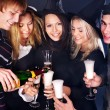 Group young at nightclub. — Foto Stock #7258344