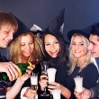 Group young at nightclub. — Stock Photo #7258345