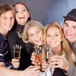 Group young at nightclub. — Stock Photo #7258354