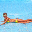 Child in swimming pool. — Stock Photo #7258995