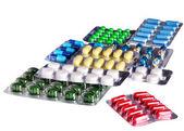 Blister pack of pills. — Photo