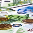 Background of euro money. - Stock Photo