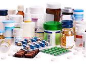 吸塑盒药片。补救措施. — 图库照片