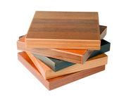 Drewniane podłogi próbki — Zdjęcie stockowe