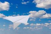 Paper plane — Stock Photo