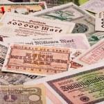 staré německé peníze — Stock fotografie