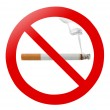 No smoking — Foto Stock