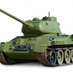 Soviet tank T-34 — Stock Photo