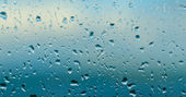 Drops on window — Stock Photo