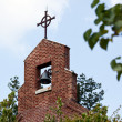 Brick bell tower of church — Lizenzfreies Foto