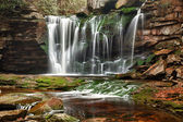Elakala Falls in West Virginia — Stock Photo