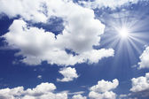 Il cielo — Foto Stock