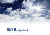 O céu — Fotografia Stock