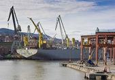 Námořní průmysl — Stock fotografie
