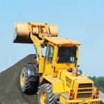Construction loader excavator — Stock Photo