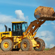 Stock Photo: Construction loader excavator