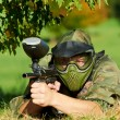 Paintball player — Stock Photo #6905979