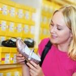 Young woman at shop — Stock Photo #6937911
