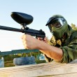 Paintball player — Stock Photo #6937965