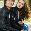 Young in conflict relationship — Stock Photo