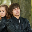 Young couple in stress relationship — Stock Photo #7106954