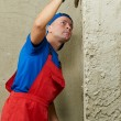 Plasterer at work — Stock Photo #7135492