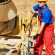 Builder worker at construction site — Stock Photo #7135536