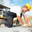 Sidewalk pavement construction works — Stock Photo #7141358