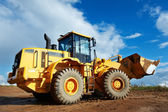 Construction loader excavator — Stock Photo