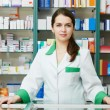 Pharmacy chemist woman in drugstore — Stock Photo #7267112
