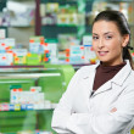 Pharmacy chemist woman in drugstore — Stock Photo #7267140
