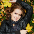 Stock fotografie: Womat autumn outdoors