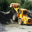 Heavy construction loader — Stock Photo #7402059