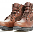 New work wear boots on white background — Stock Photo #7691472