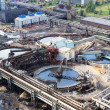 Stock Photo: Sewage industrial water plant under construction