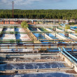 Water recycling on sewage treatment station — Stock Photo #7582106