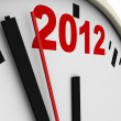 New Year's clock — Stock Photo #6784065