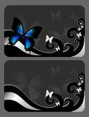 Elegant gift card — Stock Photo