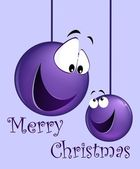 Funny christmas card — Stock Photo