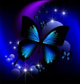 Magic butterfly — Foto de Stock
