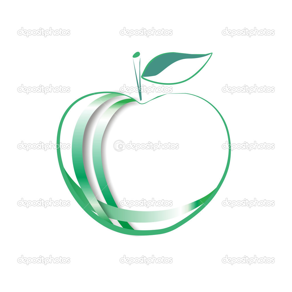 APPLE logo — Stock Photo #7455549