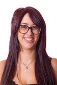 Bellissimo ritratto femmina adolescente — Foto Stock