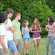Group of Teenagers at Park — Stock Photo #7391559
