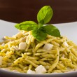 Trofie with Pesto, Italian Dish — Stock Photo
