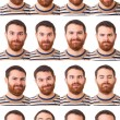 Stock Photo: MPortrait, Collection of Expressions